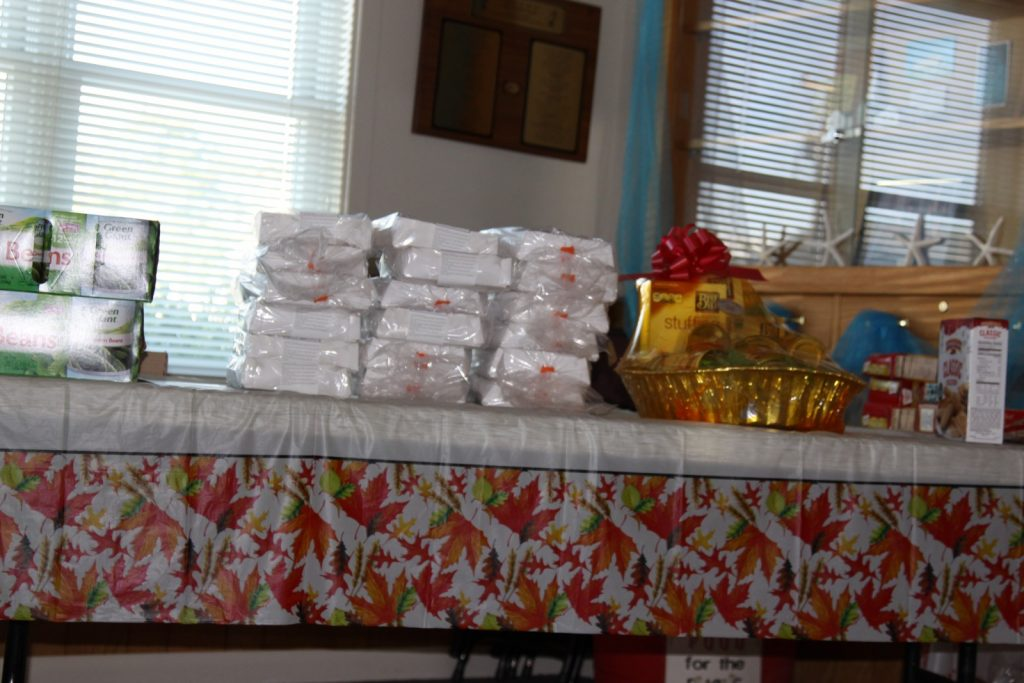 MORE donations for Thanksgiving